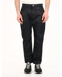 1017 ALYX 9SM Shiny Pants Black