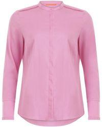 COSTER COPENHAGEN Feminine Fit Shirt - Soft - Pink