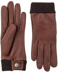 Hestra Leather Idun Gloves - Brown