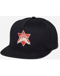 Maharishi Pax Cultura Embroidery Cap - Black