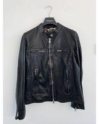 Oakwood Nara Leather Jacket In 63937 - Black