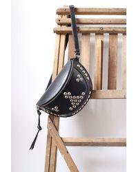 Étoile Isabel Marant Skano Studded Leather Bag - Black
