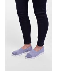 Kennel & Schmenger - Kennel Und Schmenger Malu X Suede Slip On In Heaven Blue - Lyst