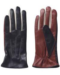 Becksöndergaard Becksã¶ndergaard Leather Anahita Gloves - Black