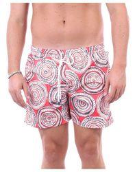 Fedeli Swimwear Sea Shorts Fancy - Orange