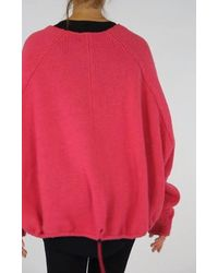 Rundholz Aw21 1290701 Pullover - Black - Pink