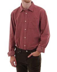Scotch & Soda Scotch & Soda Ls Classic Corduroy Shirt - Red