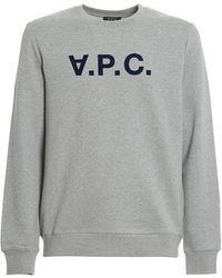 A.P.C. Sweat Vpc - Grey