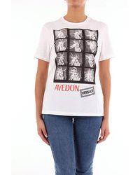 Versace White Short Sleeve T-shirt