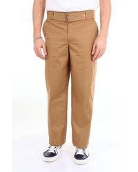 Burberry Pants Cargo Men Coffee' - Brown