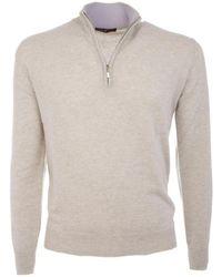 Ones Men's Knitwear _3000 50756/53311 Perla - White