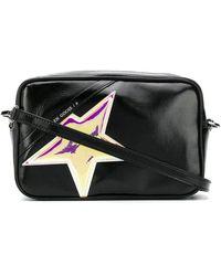 Golden Goose Deluxe Brand Star Crossbody Bag - Black