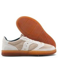 Saucony Trainer Jazz Court Rfg Natural - Multicolour