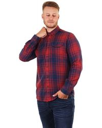Barbour Steve Mcqueen Randall Western Shirt - Red
