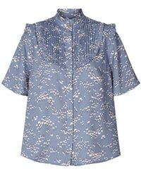 Lolly's Laundry Lollys Laundry Maria Flower Shirt - Blue