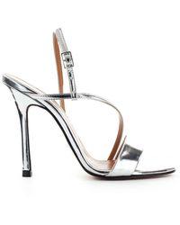 Marc Ellis Sandals With Heel Women Silver - Metallic