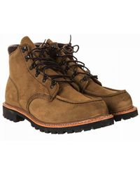 Red Wing 2926 Heritage Sawmill Boot - Olive Mohave Colour: Olive Moha - Brown