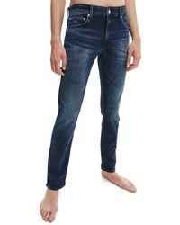 Calvin Klein Slim Jeans - Denim Dark - Blue