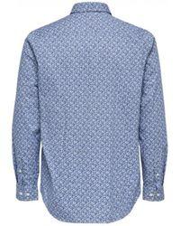 SELECTED - Selected Regpen Shirt - Lyst