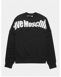 Love Moschino Logo Flex Jumper Colour: Black