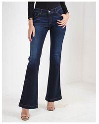 Emporio Armani J02 Bootcut Jeans Colour: Indigo - Blue