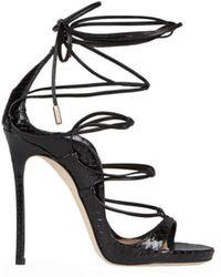 DSquared² - Riri Black Ayers Sandal 35 - Lyst