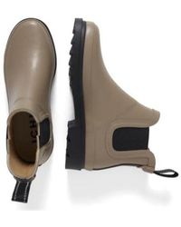 Ichi 's Iapiah Natural Rubber Ankle Boots