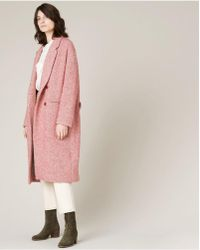 Sessun - Shelby Coat In Misty Rose - Lyst