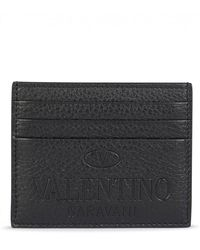 Valentino Card Holder - Black
