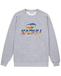 Karhu Team College Sweatshirt Heather Gray / Multi Color