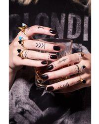SVP Jewellery Svp Rock The Casbah Tigers Eye Gold Ring - Metallic