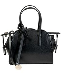 RED Valentino Mini Black Leather Handbag