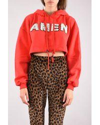 Amen Hooded Sweatshirt - Red