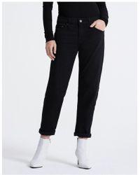AG Jeans Ag Ex Boyfriend Jeans - Black