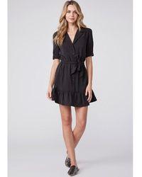 PAIGE Mayslie Dress - Black