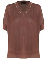 Sei Sette 57 T-shirts And Polos - Brown