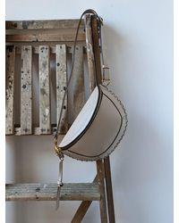 Étoile Isabel Marant Skano Light Beige Leather Cross-body Bag - Multicolour