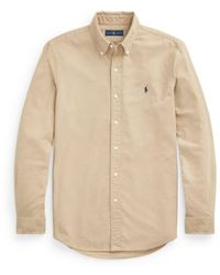 Ralph Lauren Sports Shirt , Title:tan - Brown