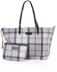 Barbour Witford Tote Bag - Gray