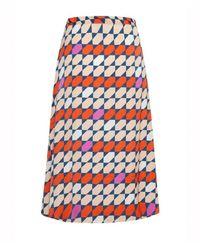 Gestuz - Mesula Tile Print Recycled Fabric Skirt - Lyst
