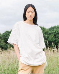 Beaumont Organic Andrea Organic Cotton Tunic In Off White