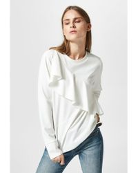 SELECTED - Elma Frill Top - Lyst