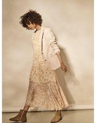 Mos Mosh Saku 3/4 Chintz Dress - Pink