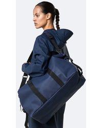 Rains Weekend Duffle Bag In - Blue