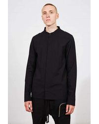 Thom Krom Thom/krom Ss21 M H 114 Shirt - Black