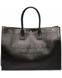 Saint Laurent Saint Laurent Men's 587273cwtfe1000 Black Leather Travel Bag
