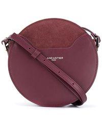 Lancaster Circular Cross Body Bag - Purple
