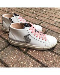 Shoe Biz Copenhagen Shoe Biz Jada Zip Mix Coral Trainers , Title:whtleozcs - White