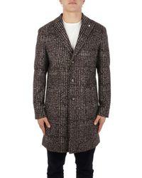 L.B.M. 1911 L.b.m. Men's 5138745104 Brown Polyester Coat