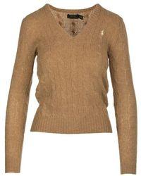 Ralph Lauren Shirt Beige - Brown